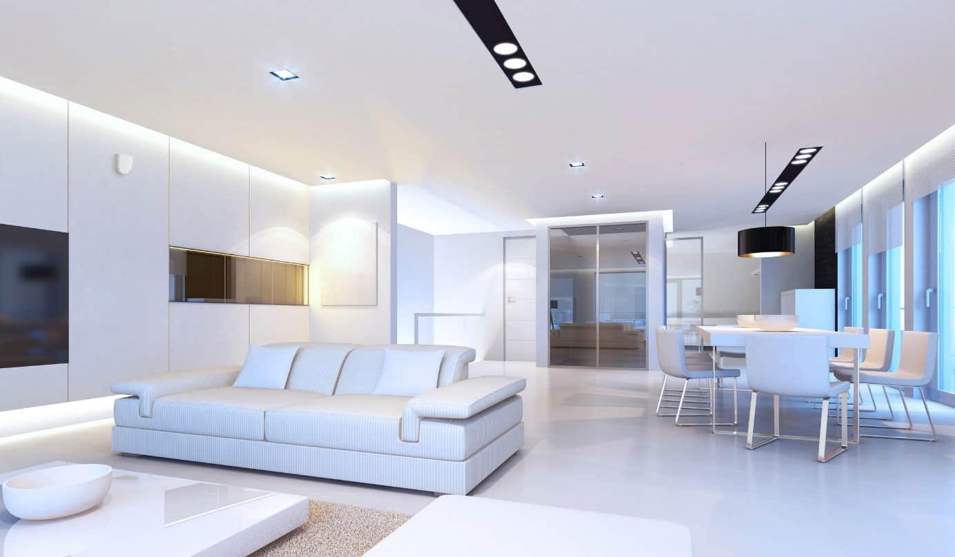Moderne Wohnung mit bedarfsgerechter Lüftung