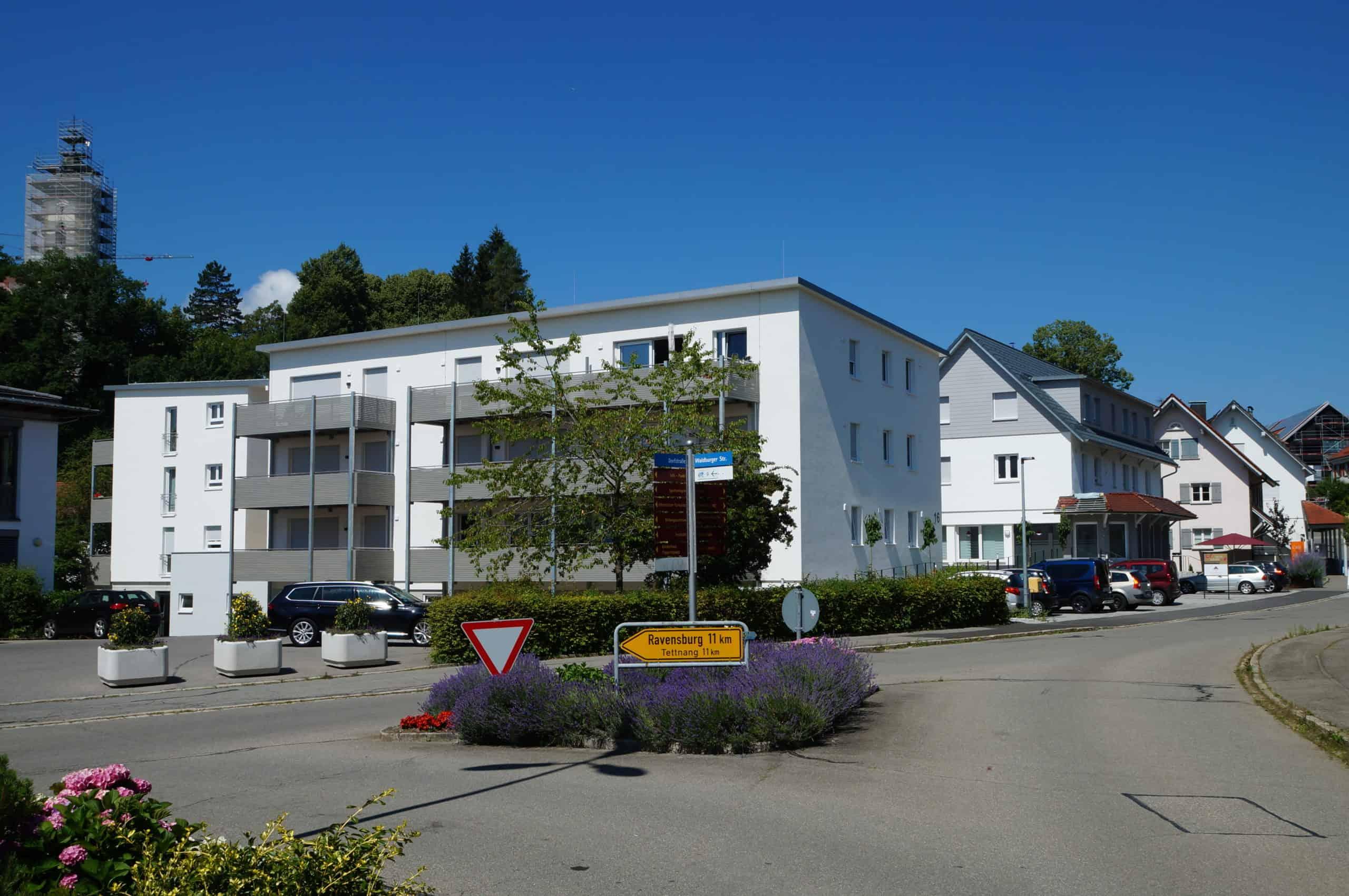 Bauvorhaben Alte Bank in Bodenegg