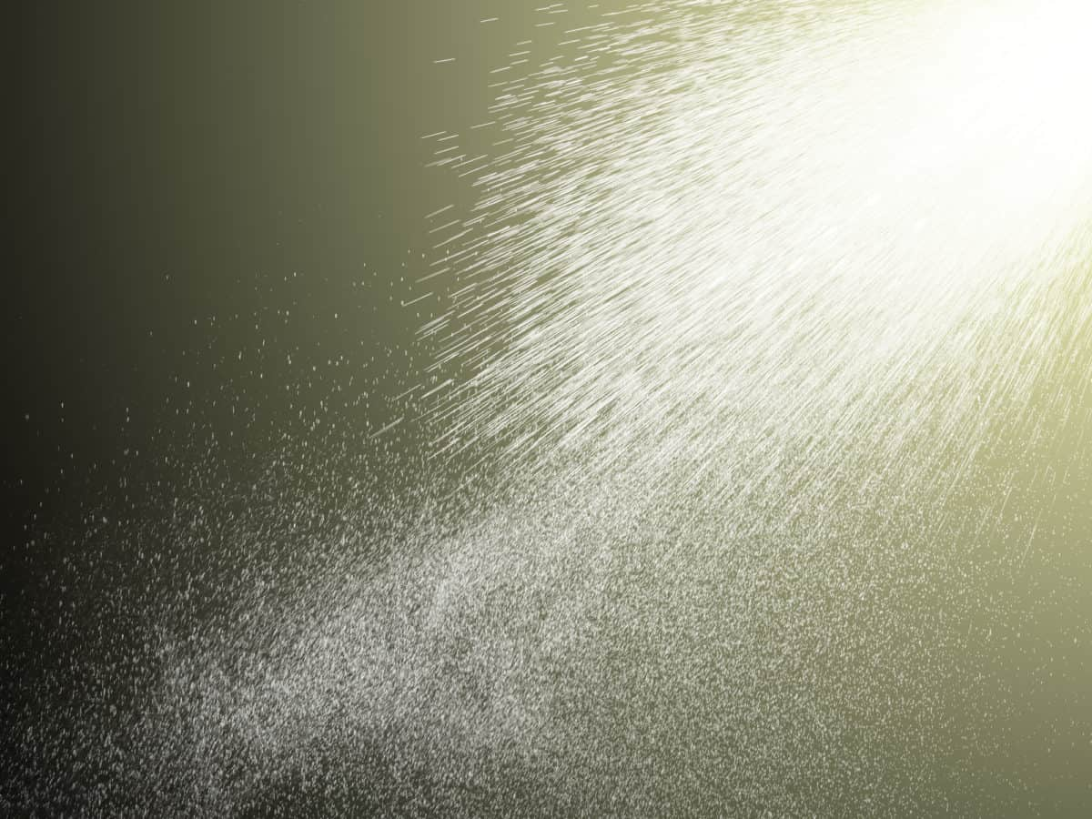 Aerosole sind ein Teil der Luft