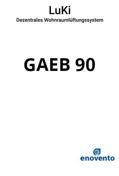 Ausschreibungstexte-enovento-LuKi-GAEB-90